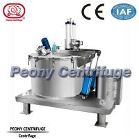 Wholesale Plate Bottom Discharge Pharmaceutical Centrifuge / Filtering Equipment For Solid Grains from china suppliers