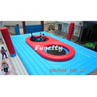 Wholesale Good Quality 0.55mm PVC Tarpaulin Beach Volleyball Game Colorful Inflatable Sports Games from china suppliers