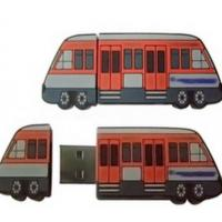 Wholesale Interesting Items Gifts Rewards Bus Shaped USB Memory Disk 8gb from china suppliers