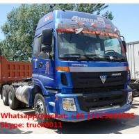 Wholesale best seller-FOTON AUMAN 6*4 340hp diesel semitrailer tractor head for sale, hot sale FOTON heavy duty tractor head from china suppliers