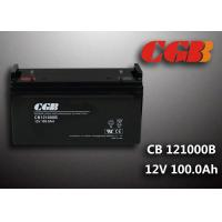 Wholesale Sealed CB121000B 12V 100Ah Rechargeable Lead Acid Battery Power Back up Application from china suppliers