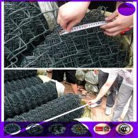 Wholesale 100mmx100mm roll drak green color chain link fene from china suppliers