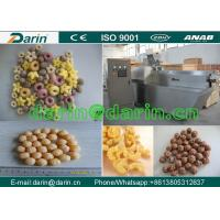 Wholesale Twin Screw Food Extruder Machine Onion Ring Corn Snacks Production Line with CE Approved from china suppliers