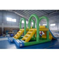 Wholesale CE Water Park Inflatable Aqua Water Slide Floating Water Tower For Lake from china suppliers