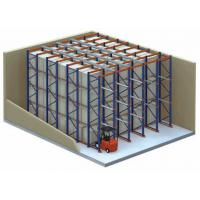 Wholesale Industrial Save Storage Space Drive-In Pallet Racking / Heavy Duty Rack System from china suppliers