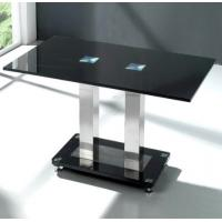 Wholesale Small Nature Coffee Wooden Side Table Contemporary Black Top from china suppliers