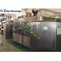 Wholesale Small  Carbonated Drink Filling Machine Fully Automatically Isobaric Filling from china suppliers
