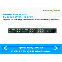 Wholesale Customized Digital TV Modulator DVB - T RF Remodulator 128 Per Input Channel from china suppliers