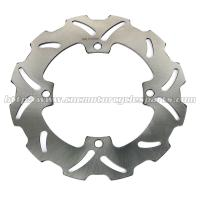 Wholesale 4mm Thickness Motorcycle Brake Disc Solid Wave Disk RMZ 250 450 Stainless Steel from china suppliers