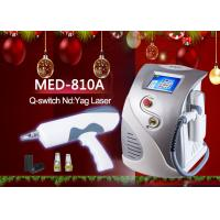 Wholesale MED-810A ND YAG Q Switch Laser Tattoo Removal Machine 8.4 TFT color LCD display from china suppliers