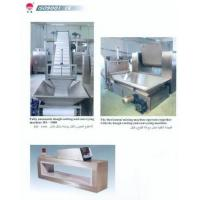 Wholesale biscuit dough sending and cutting machine and metal detector from china suppliers