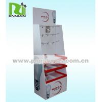 Wholesale Light Duty Creative Cardboard Hook Display Stand For Lamp , Easy to assemble from china suppliers