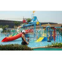 Wholesale Summer Entertainment Fiberglass Kids Water Playground Equipment with High Speed Spiral Water Slide from china suppliers