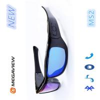 Wholesale Security Monitoring HD Camera Glasses With Stereo Earphones / Hidden Spy Gadgets from china suppliers