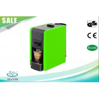 Wholesale Easy Cleaning Lavazza Blue Espresso Machine , Green Coffee Maker With Removable Water Tank from china suppliers