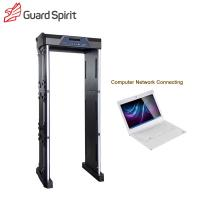 Buy cheap Sports Stadium Inspection Foldable Portable Metal Detector Body Scanner 355 Level Sensitivity from wholesalers