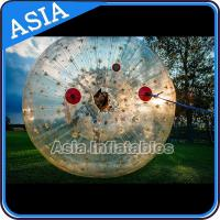 Wholesale 2.5m Children Human Hamaster Inflatable Zorb Ball , Grass Roller Ball from china suppliers