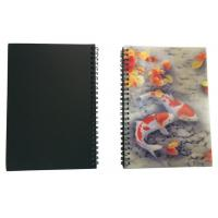Wholesale Wires Colored 80 Pages A5 3D Plastic Cover Notebooks For School Use from china suppliers