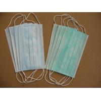 Wholesale 3-ply face mask with earloops  medical disposable products china disposable nonwoven from china suppliers