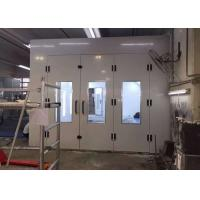 Wholesale Inner Ramps High Precision Paint Booth , Powder Coating Spray Booth Hire from china suppliers