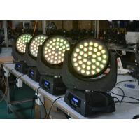 Wholesale 4 in 1 10W With Zoom LED Moving Head Wash Light AC110-240V 36Bulbs from china suppliers