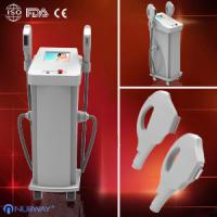 Wholesale 2-handle IPL Beauty Equipment for hair removal , skin Rejuvenation, vascular removal from china suppliers