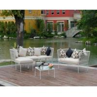 Wholesale Poolside Garden Table And Chairs Set With Cushion For Conversation / Relaxing from china suppliers