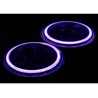 "Wholesale Purple Light Halo Ring 7"" Osram LED Car Headlights , High / Low Beam LED Headlamp from china suppliers"