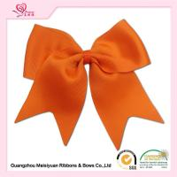Wholesale Orange Girls Cheering Hair Bows Clip cute Baby hair accessories OEM Accepted from china suppliers