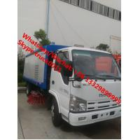 Buy cheap HOT SALE! high quality and competitive price dongfeng 4*2 RHD road sweeping vehicle, Factory sale best price Dongfeng 4* from wholesalers