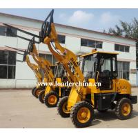 Wholesale 0.8T mini wheel loader ZL08F with pallet fork from china suppliers