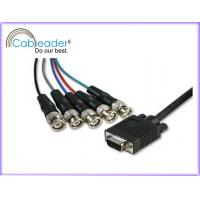 Wholesale Computer Cables VGA Cable HD15M - 5XBNC male cable, UL2919, 3Coaxial + 4C/5C/6C/7C from china suppliers