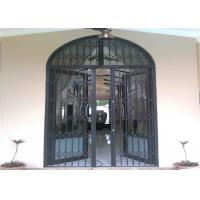 Buy cheap Customized Aluminium Security Door Frame With Powder Coating Grey ISO SGS from wholesalers