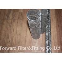 Wholesale SS 304 / 304L / 316 / 316L Perforated Metal Tube Spiral Welded For Filter Inner Tube from china suppliers