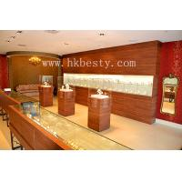 Buy cheap wooden jewelry display counter and tower from wholesalers