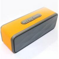 Wholesale Model JT2697 fashion lether surface with high quality Super Bass Bluetooth speaker with LED display from china suppliers