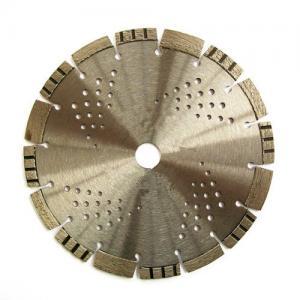 Synthetic Diamond Asphalt Cutting Blade Inclined Teeth Drop Segment Protection