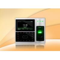 Quality High speed network face , fingerprint scanner time attendance and Access Control for sale