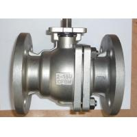 Quality SS ANSI Class 150 Quarter Turn Ball Valve 2 Way ISO 5211 Flange Type for sale