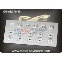 Wholesale Anti - corrosive Metal Kiosk Keyboard industrial with Stainless Steel Material from china suppliers