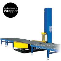 Wholesale Small-Footprint Online Pallet Wrapping Machine Turntable Stretch Wrapper from china suppliers