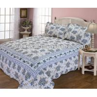 Wholesale Popular quilt set with border,bedding set,microfiber polyester quilts,any size any color from china suppliers