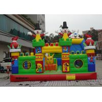 Wholesale 0.55mm PVC Tarpaulin Flower Fairies Inflatable Fun City Playground For Fun Games from china suppliers