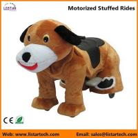 Wholesale Battery Operated Motorized Stuffed Rides on Toys for kids and adult-Dog from china suppliers