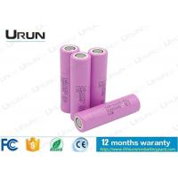 Quality Original Samsung Lithium Battery Cells / 18650 Li - Ion 3.7 V Rechargeable Battery for sale