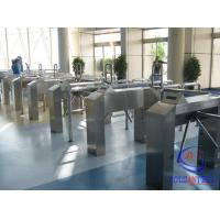 Wholesale Qr Code Barcode waist height turnstile With Barcode Scanner For Gym from china suppliers