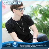 China 140 grams china wholesale 100% cotton men cheap price T shirt with short sleeve on sale