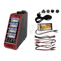 Wholesale Quad port Lipo Lion LiFe LiHV Nimh Nicd battery charger built in power supply from china suppliers