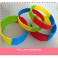 Wholesale Countries  Wristbands Sports Silicone Bracelets , Fitness Personalized Silicone Bracelet from china suppliers