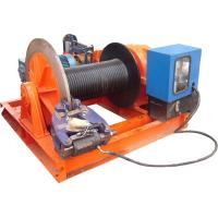 Wholesale 15t Lifting Load Electric Cable Hoist Winch Consisting Of A Horizontal Cylinder from china suppliers